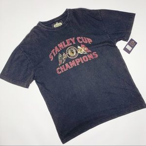 NWT Chicago Blackhawks Stanley Cup Champions Tee M